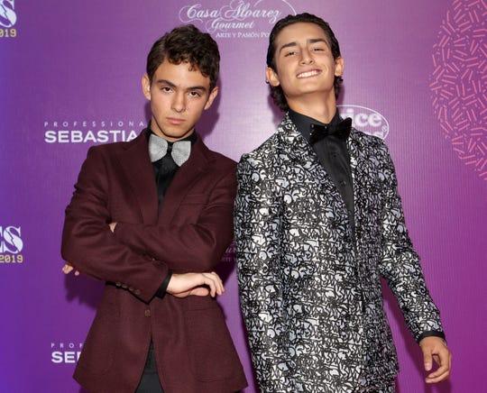 """Joaquín Bondoni (izq) está en la cima del éxito con su personaje de Temo en la serie """"Juntos el Corazón Nunca se Equivoca"""", que protagoniza al lado de Emilio Osorio (der)."""