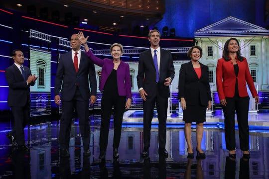 Las mejores imágenes del debate demócrata a la presidencia de EEUU celebrado el 27 de junio de 2019, en Miami