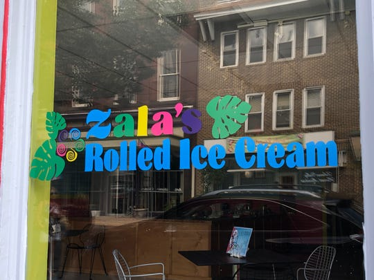 Zala's Rolled Ice Cream in Lebanon open on June 18 and already has established quite a following, with lines forming out the door at times.