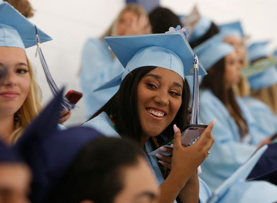Scenes from the John Jay High School graduation on June 26, 2019.