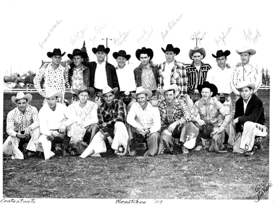 Reno's Lyle Smith competed in rodeos across the U.S. and Canada in the 1950s and 60s