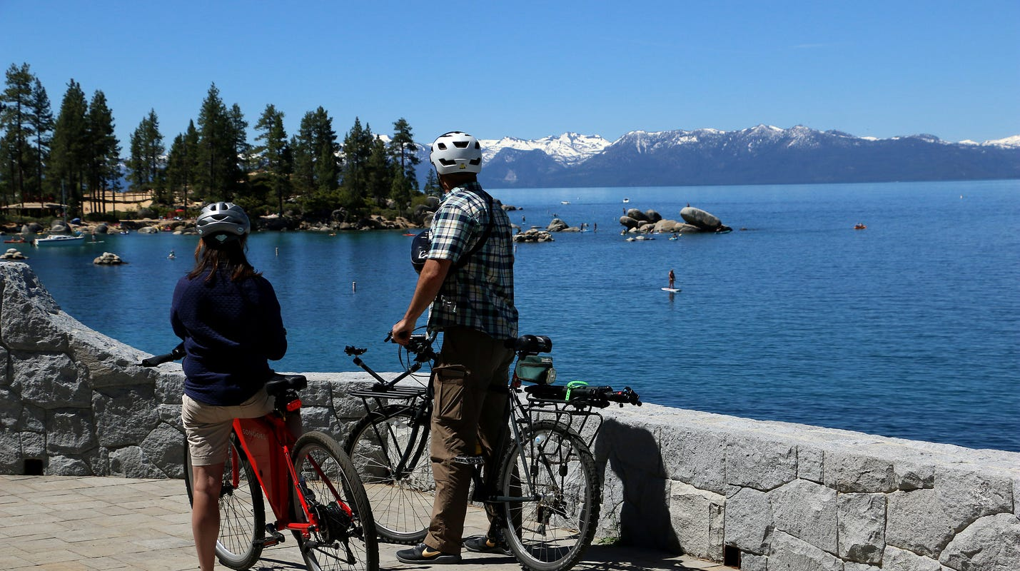 Lake Tahoe is nearly full (and has been for weeks). That's good news for area water supply