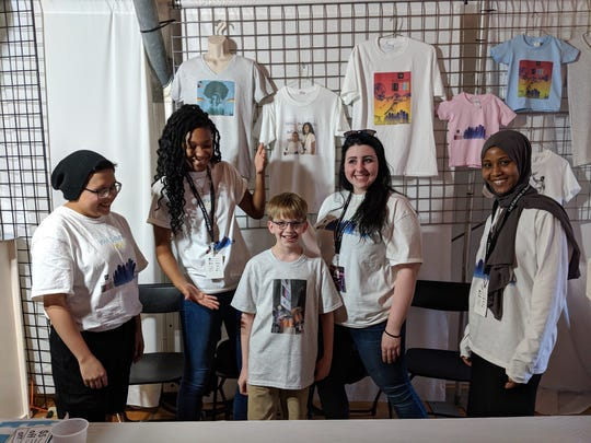 Visitors to the D&C Direct To Garment photo booth may show their D&C app on their smartphone and get a coupon for $5 off on one personally customized T-shirt.