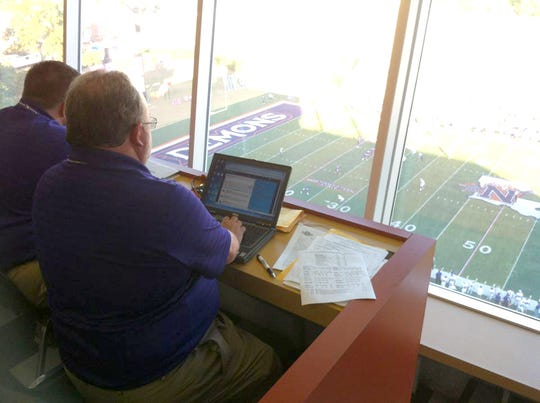 The fifth floor of the Turpin Stadium press box will be named the Doug Ireland Media Level after the NSU sports information director of 30 years announced his retirement this spring.