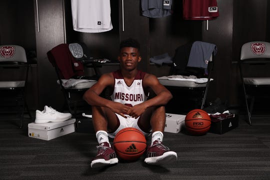 Anton Brookshire on his unofficial visit to Missouri State.