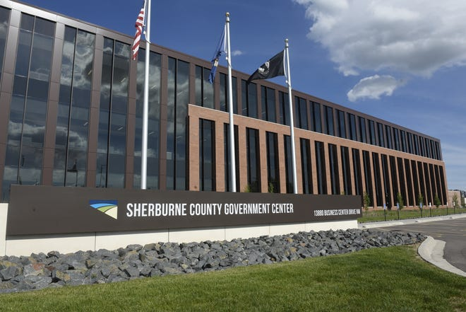 In 2018 Sherburne County completed a new courts wing addition to its  government center. It's shown on Wednesday, June 26, 2019, in Elk River.