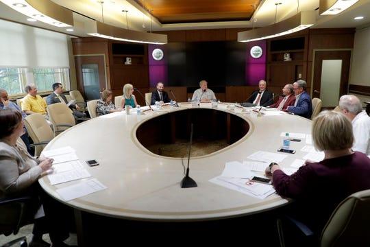 The Florida State University Athletics Association hosts a board meeting Thursday, June 27, 2019.