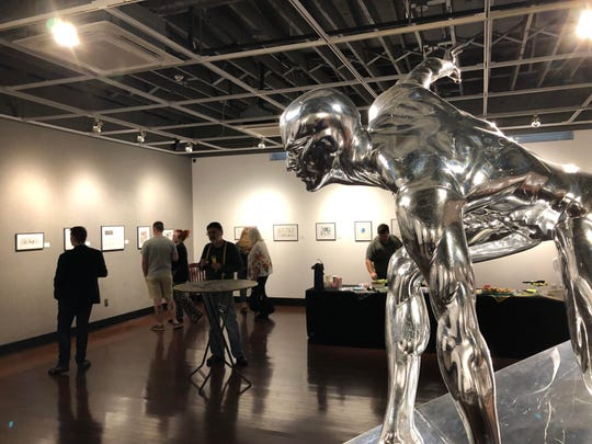 The Art of Florida Cartoonists is on display at the Panama City Center for the Arts through July 20.