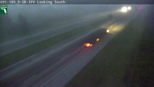 Fog was limiting visibility on major highways through the Treasure Coast June 27, 2019.