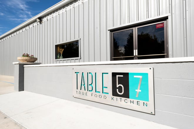 Table 57 has opened in the space formerly Tommy's Cafe at Pershing and Shirk in Visalia.