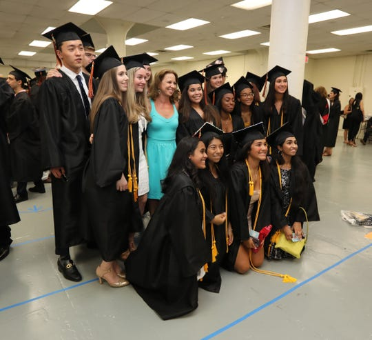 The 2019 White Plains High School graduation was held at the Westchester County Center in White Plains June 26, 2019.