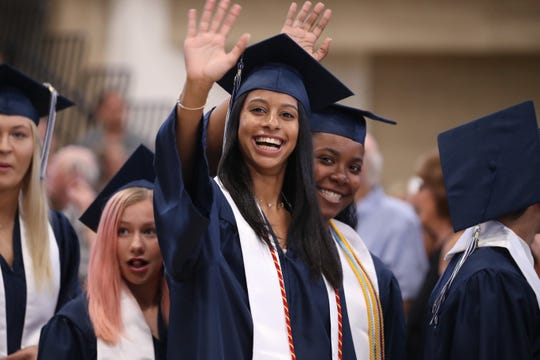 Suffern High School graduation ceremony at Rockland Community College June 26, 2019.