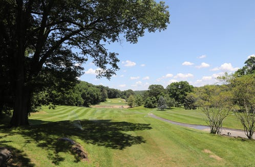 A view of one of the golf holes at Maple Moor Golf Course in White Plains, June 27, 2019.