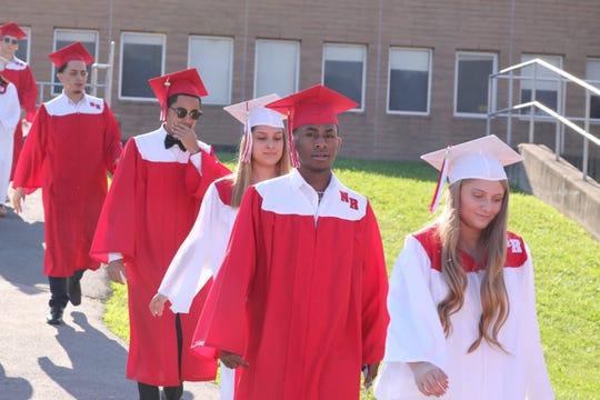 Graduation ceremony at North Rockland High School June 26, 2019.