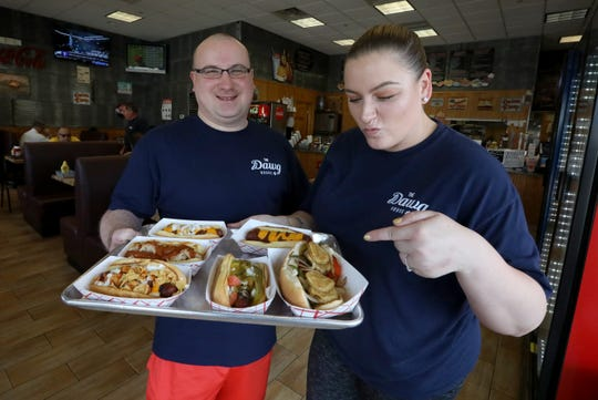 Owner James Barracato and Amanda Viant, general manager, at The Dawg House in Nanuet June 27, 2019.