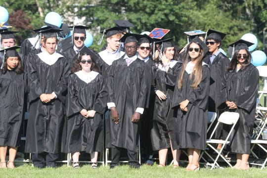 One-hundred and twenty seniors graduated during the Rye Neck High School graduation June 26, 2019.
