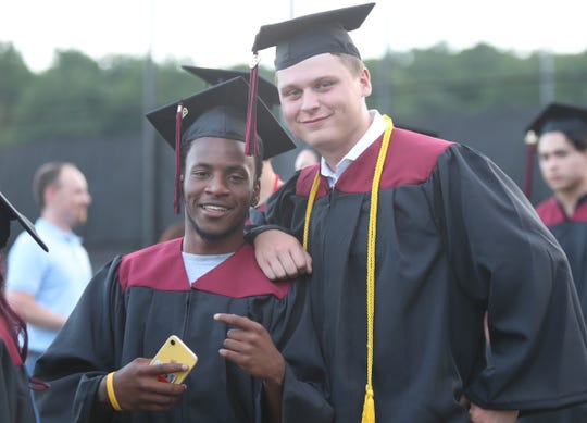 Nyack High School holds their graduation ceremony in Nyack on Wednesday, June 26, 2019.