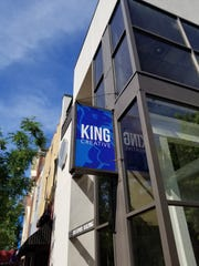 King Creative is located at the corner of 8th and Market streets in Wilmington.