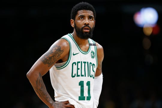 Kyrie Irving averaged 23.8 points this season.
