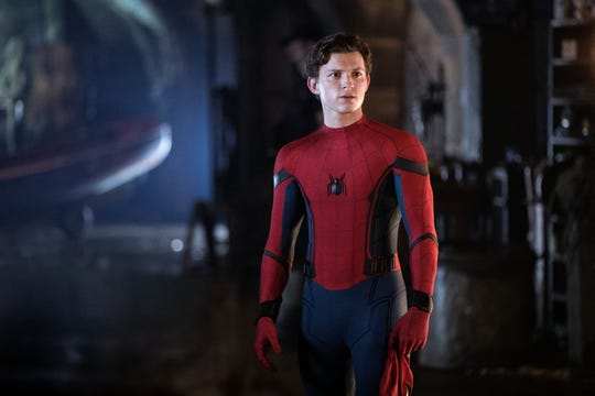 Tom Holland, who plays Spider-Man, looks as shocked as the rest of us feel.