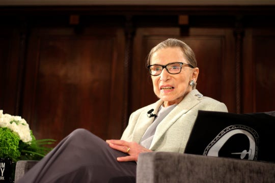 Associate Justice Ruth Bader Ginsburg underwent surgery for lung cancer but bounced back within two months.