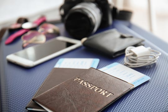 Don't leave your hotel room without them: Always double-check to make sure you have your passport, phone, chargers, computer and wallet.