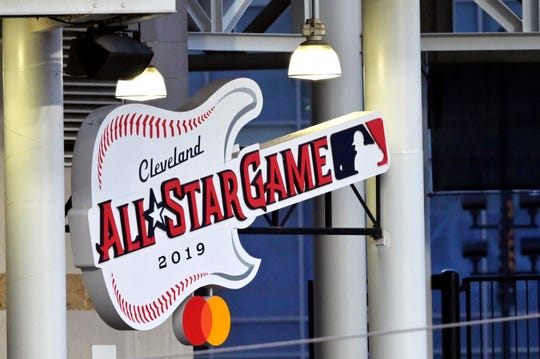 The 2019 All-Star Game is on July 9 at Progressive Field in Cleveland.