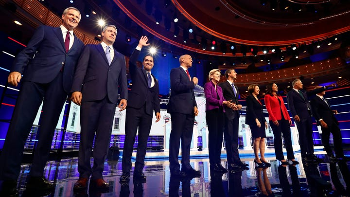 Mastio and Lawrence: Our grades for the candidates in the first Democratic debate