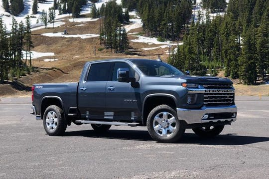 Silverado HD High Country with the Duramax diesel.