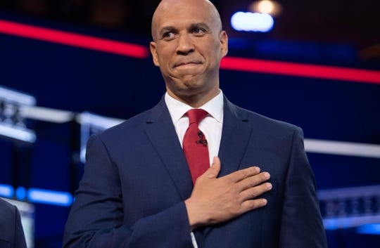Sen. Cory Booker, D-N.J., cites a lack of fundraising in his decision to exit the presidential race.