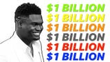 Marketing expert and President/CEO of United Entertainment Group, Jarrod Moses, projects that Zion Williamson will be a billionaire within five years and explains how he'll accomplish that.