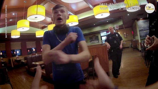 Police body cam: Volodymyr Zhukovskyy arrest, search found crack pipe