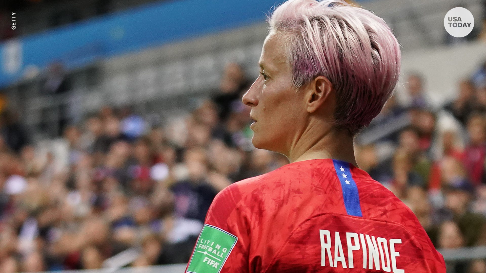 U S  soccer star Megan Rapinoe stands by her statement about not going to  the White House