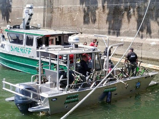 The Multnomah County Sheriff's Office's dive team needed a bigger boat to recover all of the e-scooters and bikes in the Willamette River in Portland.