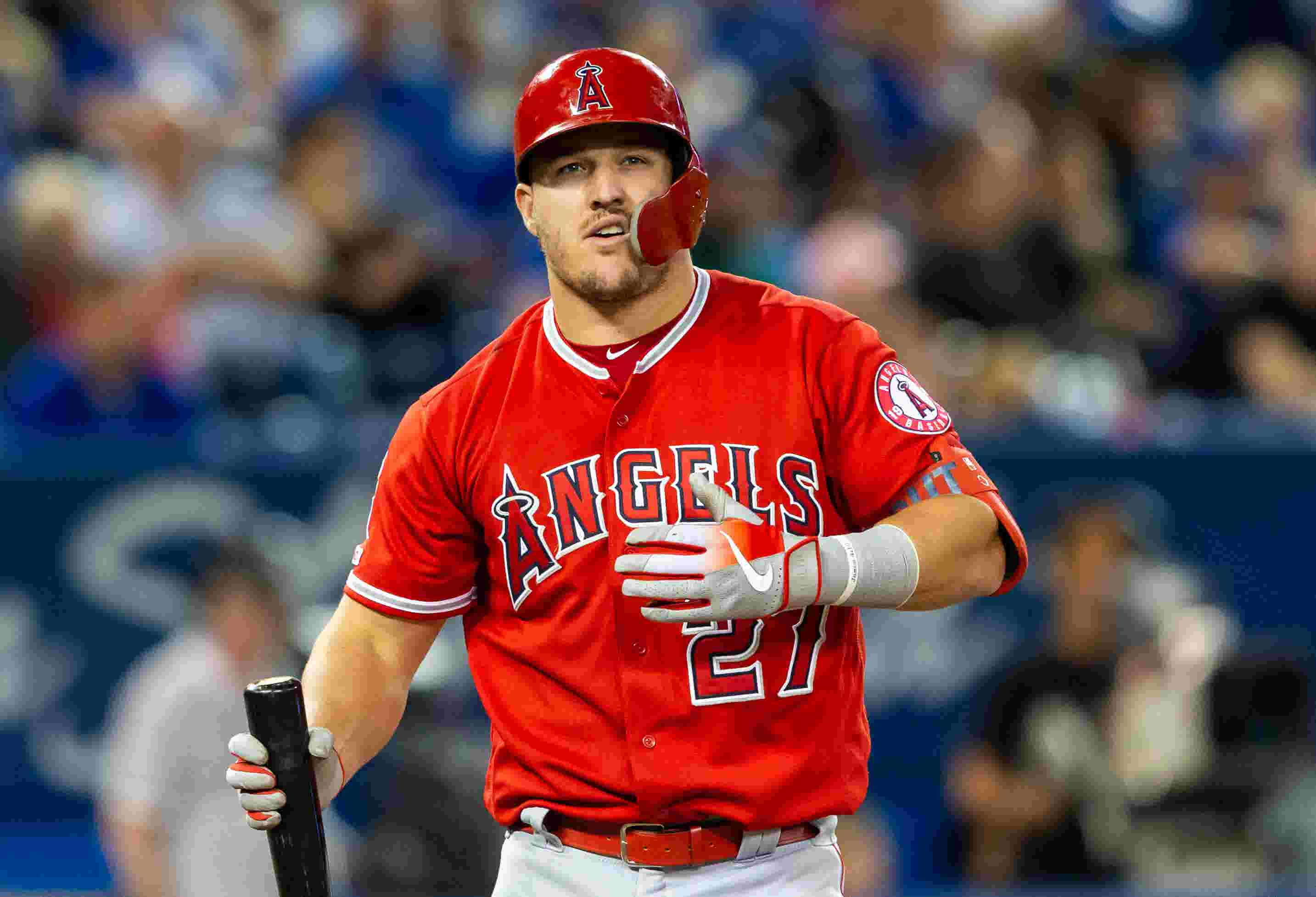 Mike Trout on his early MLB All-Star Game memories