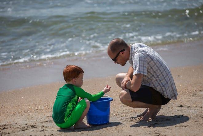 NJ Beaches: Asbury Park, Day at the Beach on June 28, 2019.