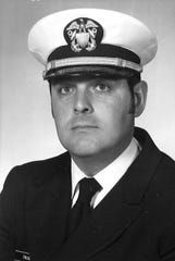 LCdr. Carl Otis Trusler served in the United States Navy, circa 1977.