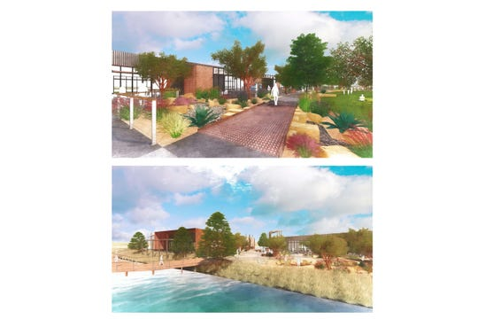 Architectural renderings of the Allen Ridge project.