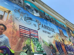 Camden's newest mural pays homage to Parkside's past, present and future