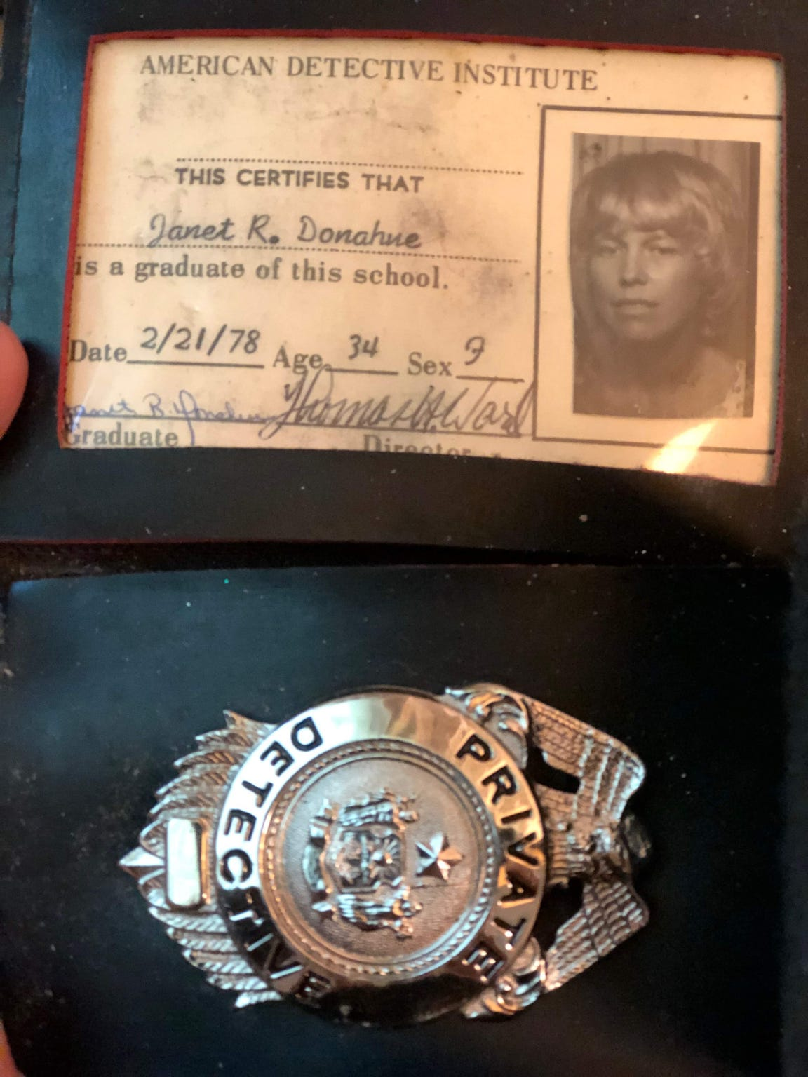 After her friend Cheryl Hughes' mysterious abduction and death, Janet Donahue obtained her detective badge in hopes of finding answers.