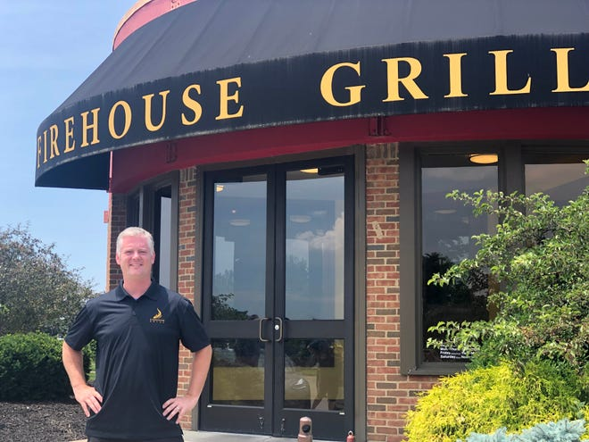 Dan Shatto, Brewmaster at Firehouse Grill Brewery in Blue Ash.