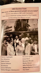 The first campaign McFarlin worked on was that of Marian Spencer, the first black woman to serve on Cincinnati City Council, in 1983.