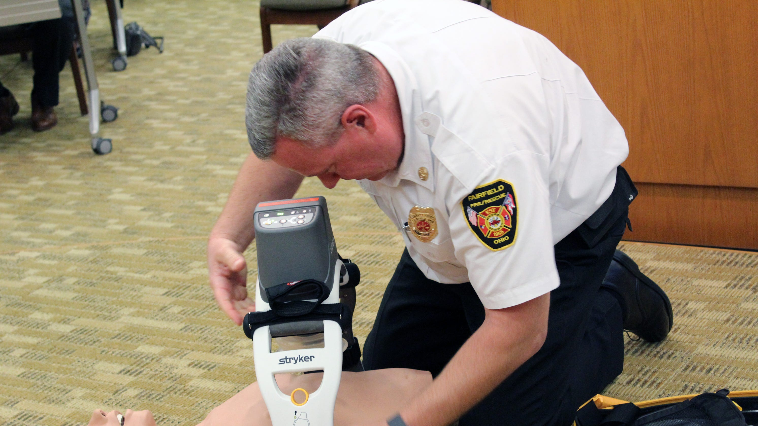 New fire gear helps Fairfield EMS administer CPR