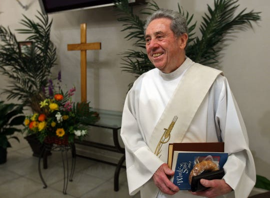 Deacon John Pacifico at St. Ann Church has died at age 91.