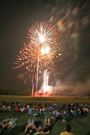 Somerset County's Fireworks Display is scheduled for Thursday, July 4, at North Branch Park in Bridgewater.