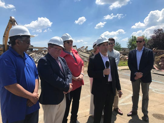 Demolition has begun at the former home of the Wonder Bread factory at 110 Tices Lane in East Brunswick, marking the beginningof the first phase of the township's proposed Route 18redevelopment project.