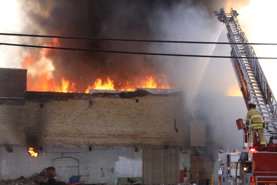 In June a fire at the former Ansell Edmont building destroyed a section of the structure facing 14th Street. The maker of industrial gloves went out in 2011.