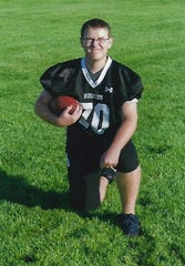 Dan Richards, 16, played for both Creston and Winterset high schools' football teams.