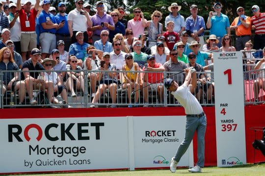 Detroit hosted the Rocket Mortgage Classic during Quicken Loans' record-breaking second quarter of 2019.