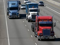 Bill would limit heavy truck speed to 65 mph